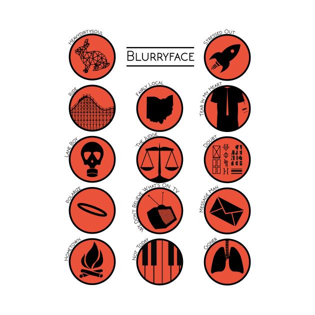 Twenty One Pilots Blurryface