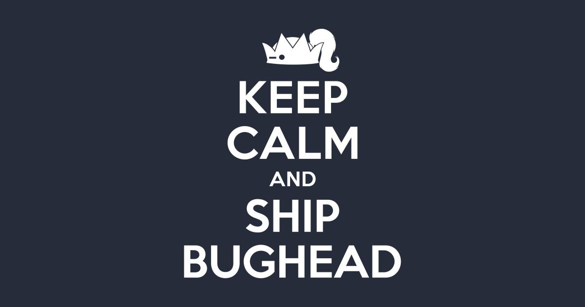 c721a3d6b30d3 Riverdale - Keep Calm And Ship Bughead - Riverdale - Laptop Case ...