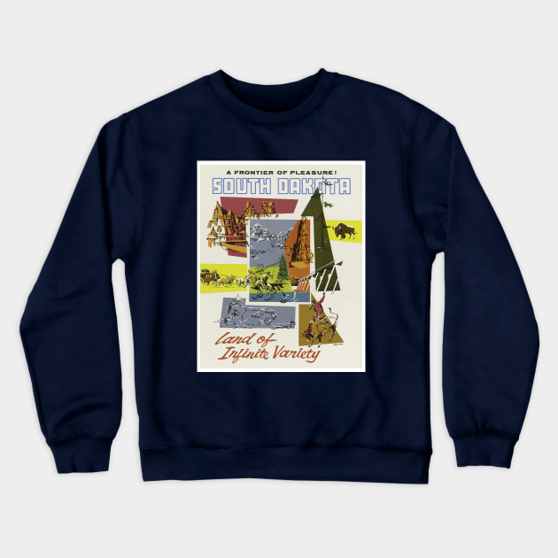 A Frontier Pleasure Vintage South Dakota Travel Design