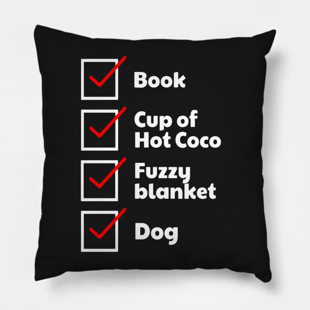 Book Lover Checklist Coco Dog TShirt Thanksgiving Pillow Interesting Book Lovers Throw Blanket