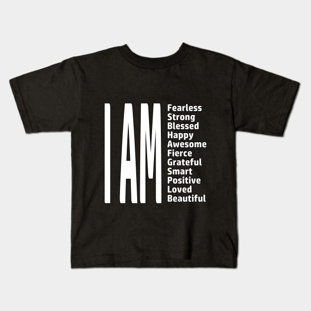 I Am Fearless Strong Blessed Youth T-Shirt