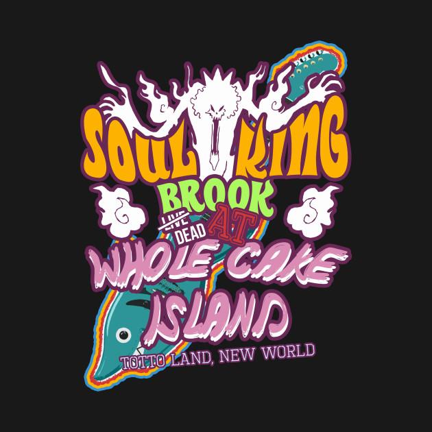 Soul King Whole Cake Island One Piece Pillow Teepublic