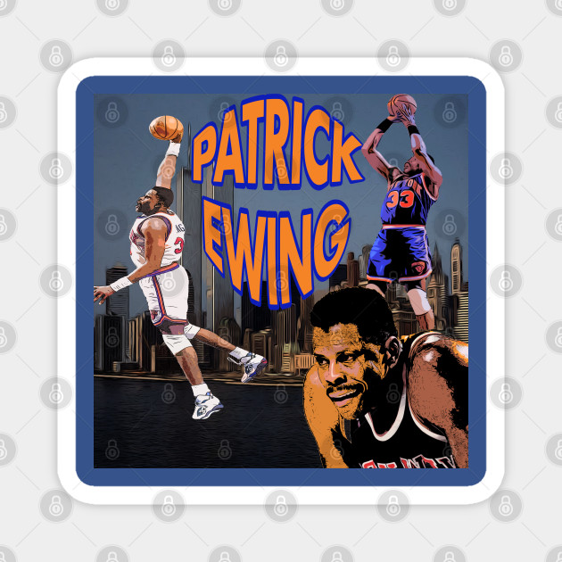 Patrick Ewing Towering Over NYC