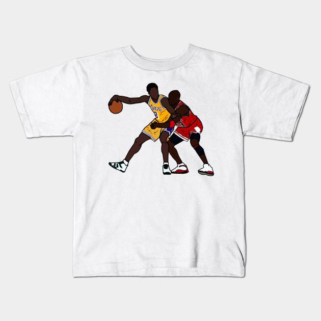 1284826c9ccb Kobe Bryant VS Michael Jordan GOAT - Los Angeles Lakers Chicago Bulls Kids T -Shirt