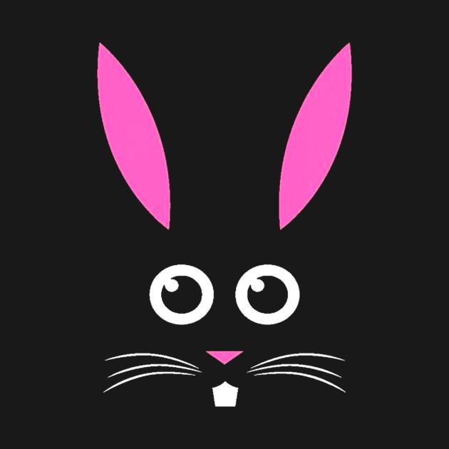 Tstars Bunny Face Cute Little Easter Bunny Funny Easter Kids T