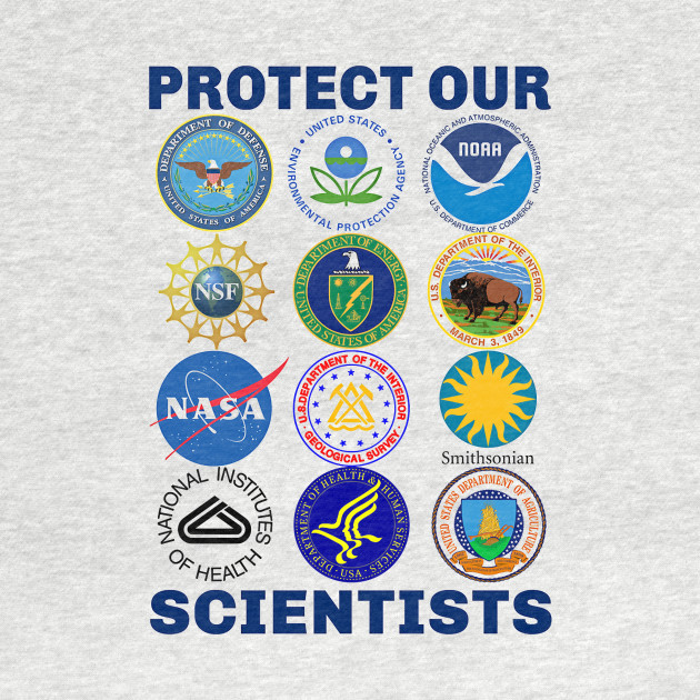 Protect Our Scientists Change Resist Anti-Trump