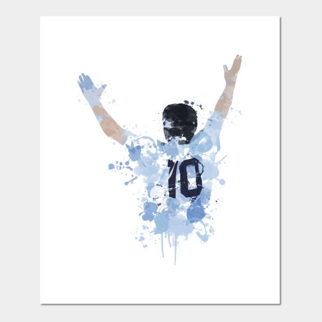 Diego Maradona Argentina Legend Maradona Posters And Art Prints Teepublic