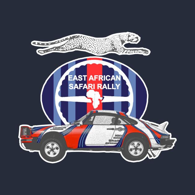 Porsche 911 East African Safari Rally 1978