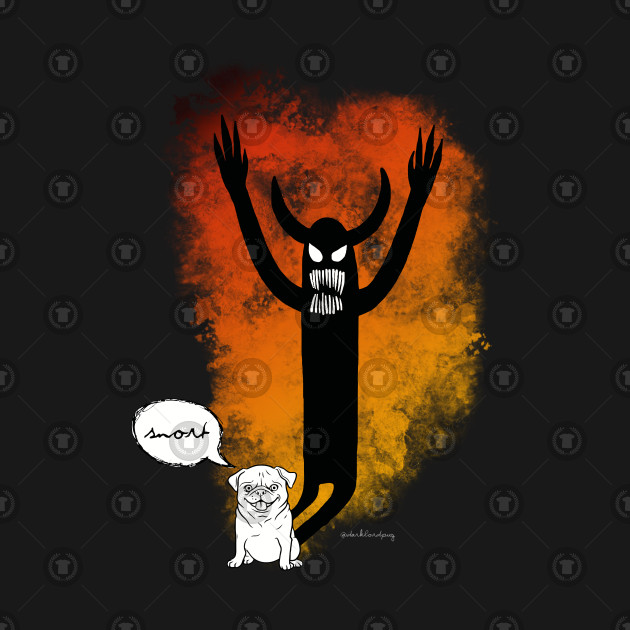 Angel Devil Pug