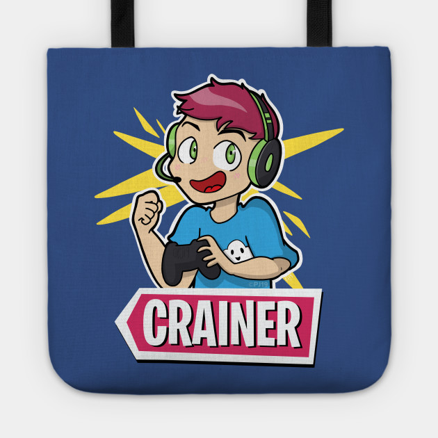 Cartoon Crainer with Logo