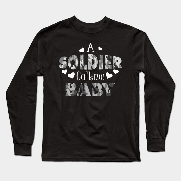 1926cb46 Army Girlfriend Hoodie For Proud Army Wives and Girlfriends Long Sleeve T- Shirt