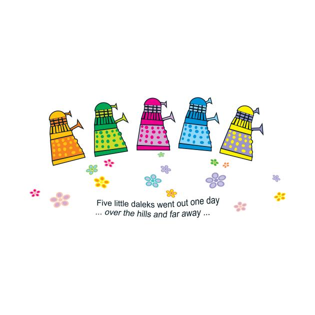 five little darlings