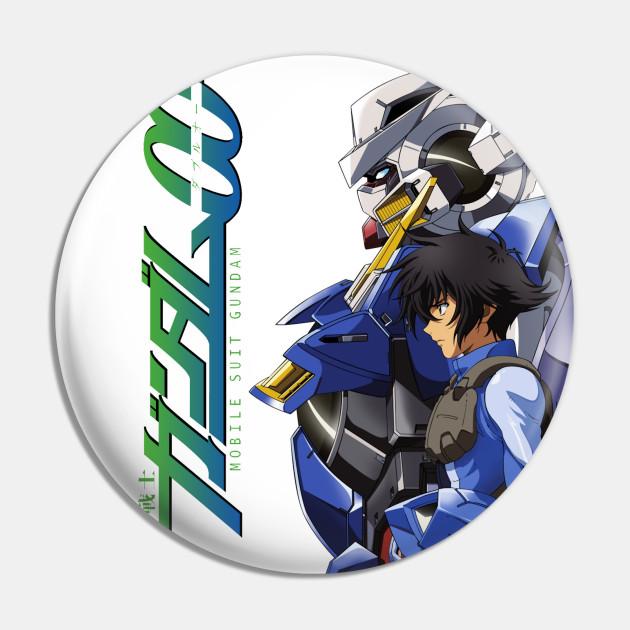 Gundam Exia and Setsuna F Seiei