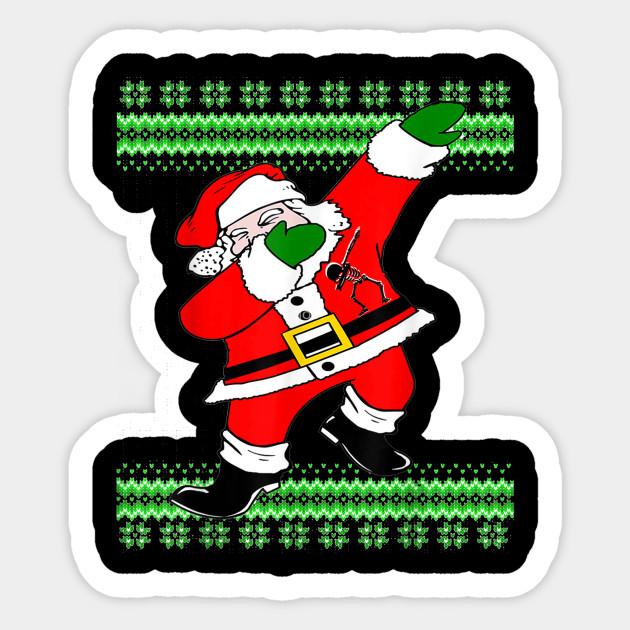 Funny Merry Christmas.Funny Merry Xmas Dabbing Around The Christmas Tree