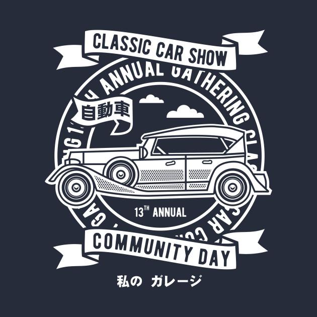 Classic Car Show Classic Car Kids Long Sleeve TShirt TeePublic - Car show t shirts