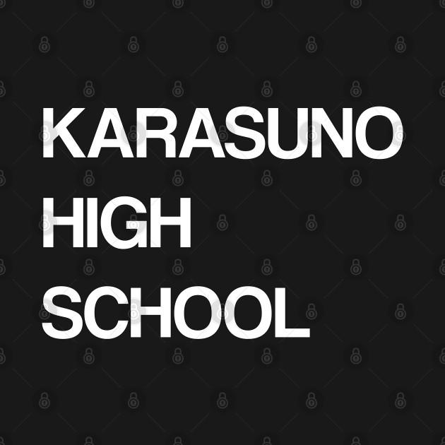 Karasuno High School Haikyu (White)