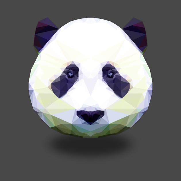 colorful panda panda t shirt teepublic