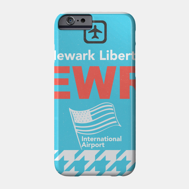 Ewr Newark Liberty Airport Code New Jersey Phone Case Teepublic