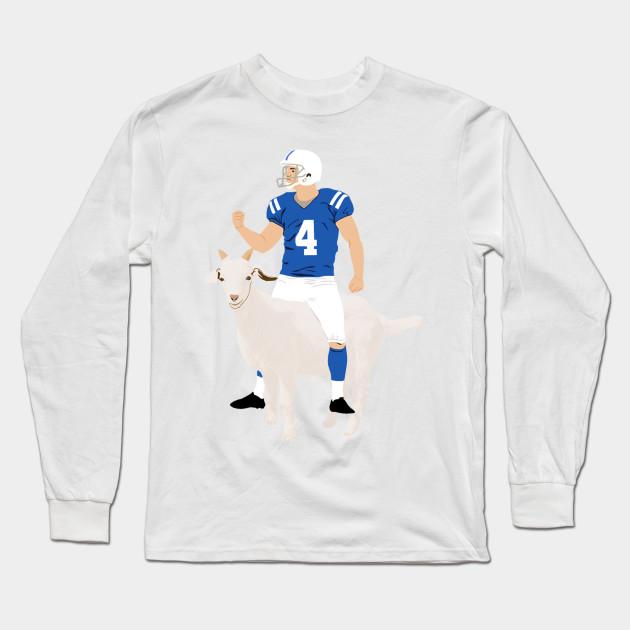 dc73f4d9 Vinny Goat - Adam Vinatieri - Long Sleeve T-Shirt | TeePublic