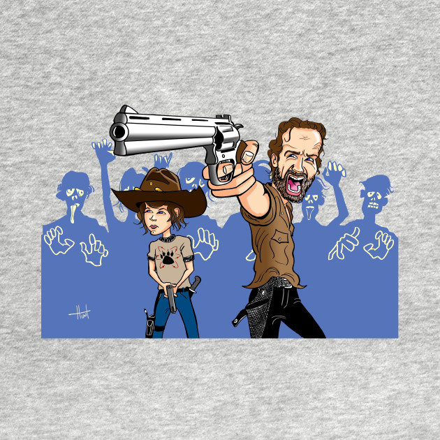 The Walking Dead, Rick & Carl Grimes
