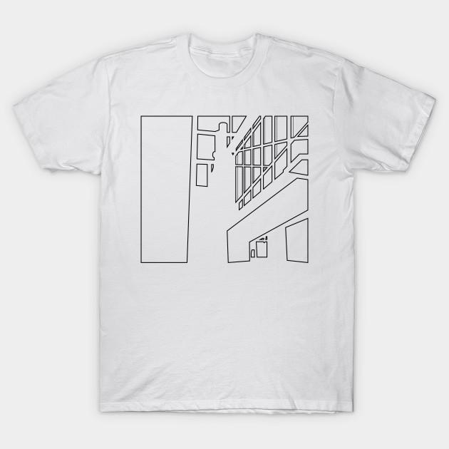 9e7440c0 minimalist line architectures drawing - bauhaus - Architecture - T ...