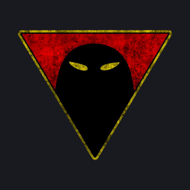 Space Ghost - Chest Symbol - Black Dirty