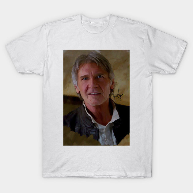 25b6978d Chewie, We're home! Harrison Ford Han Solo - Indiana Jones - T-Shirt ...