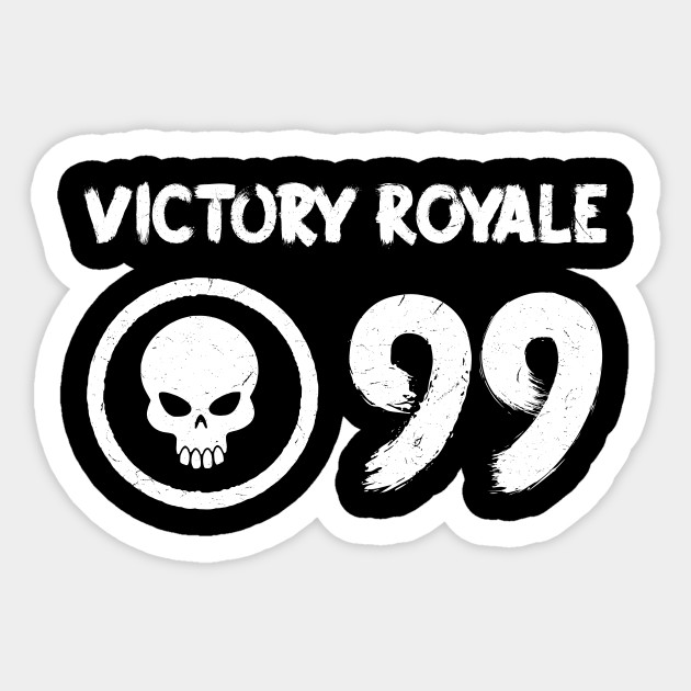 Fortnite Victory Battle Royale Logo