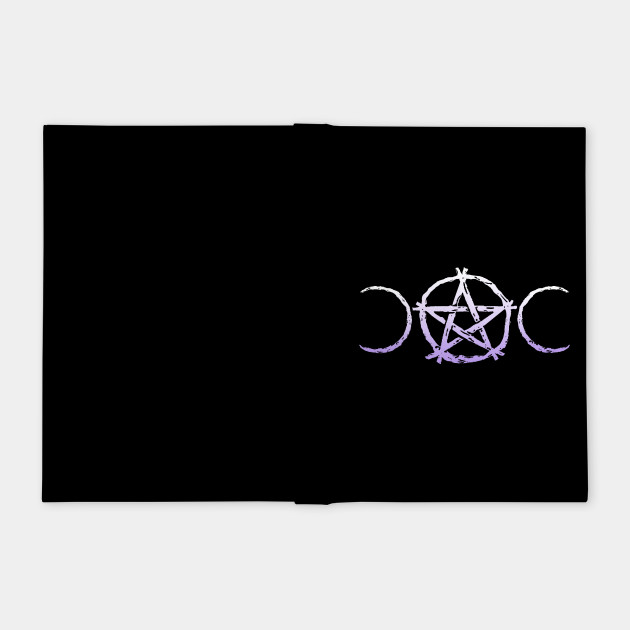 Wiccan & Pagan Nature Twigs Pentacle Triple Moons