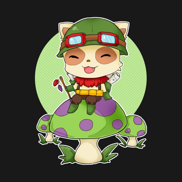 Chibi Teemo - League of Legends - League Of Legends ...  Chibi Teemo - L...