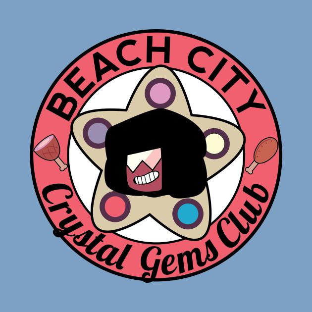 Beach City Crystal Gems Club (garnet)