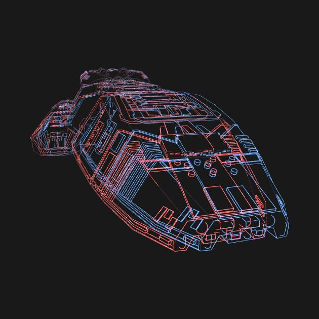 Classic Galactica 3d T-Shirt