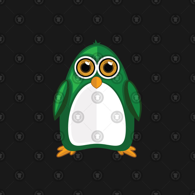Green Penguin