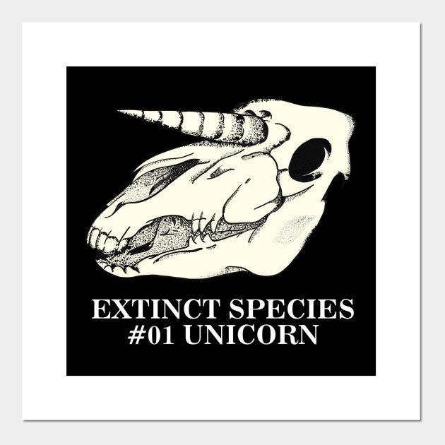Exctinct Species #01 Unicorn (White Type)