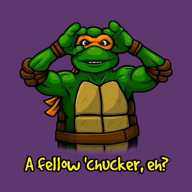 A Fellow Chucker,Eh?