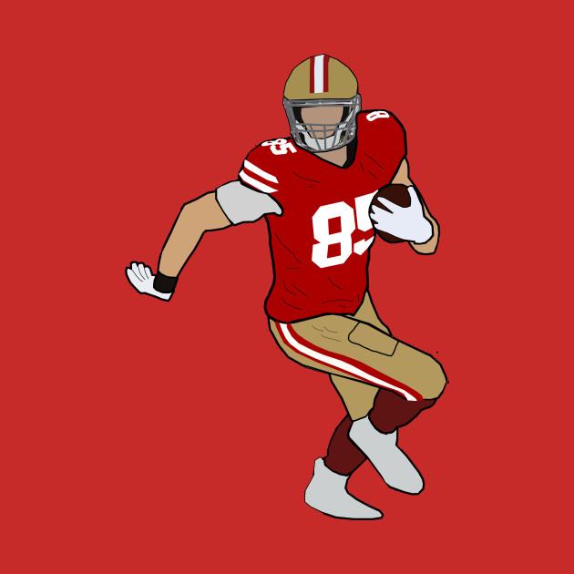 watch af079 fd6d9 George Kittle - San Francisco 49ers