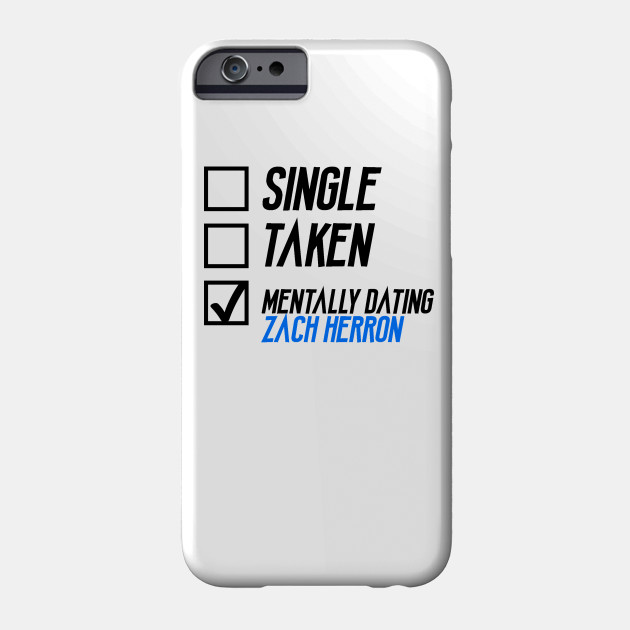 Mentally Dating Zach Herron Zach Herron Phone Case