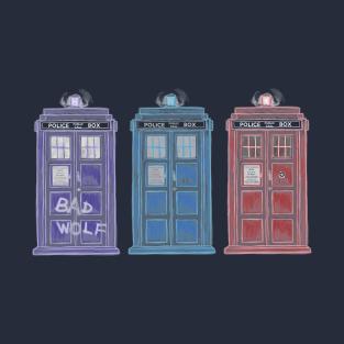 The Doctors' TARDISes