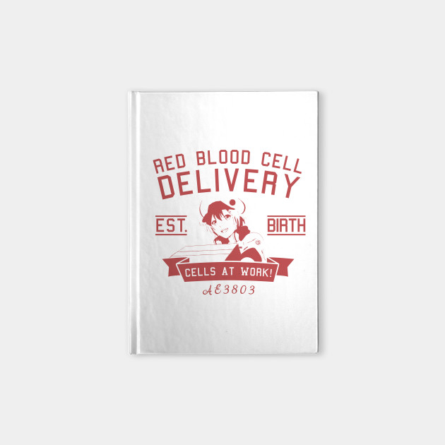 Red Blood Cell Delivery - Cells At Work Anime Shirt