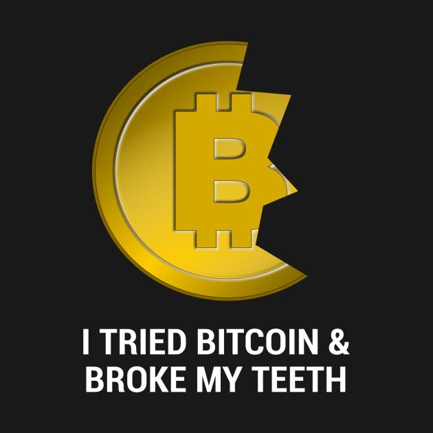 Bitcoin Teeth (dark)