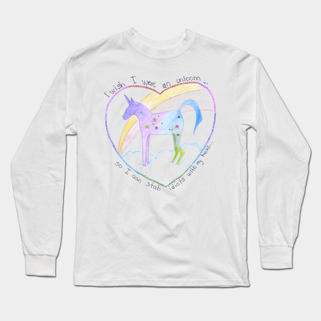 Be Unique Like A Unicorn Adult T Shirt