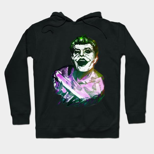 Rob Potsy Potchak Joker Straight Jacket Joker Hoodie Teepublic