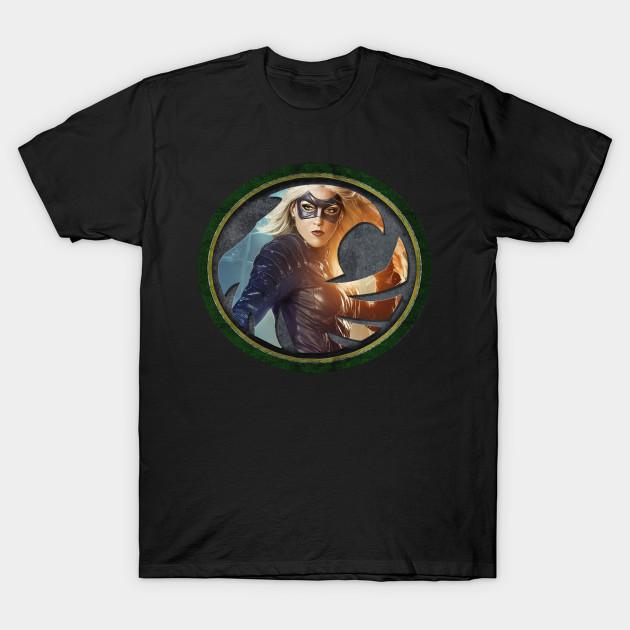 Black Canary Symbol Black Canary T Shirt Teepublic