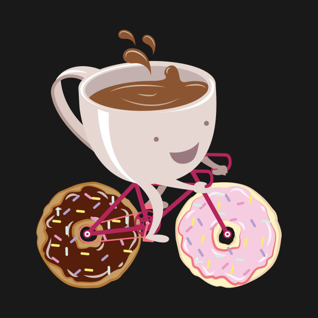 Coffee Donut Bicycle