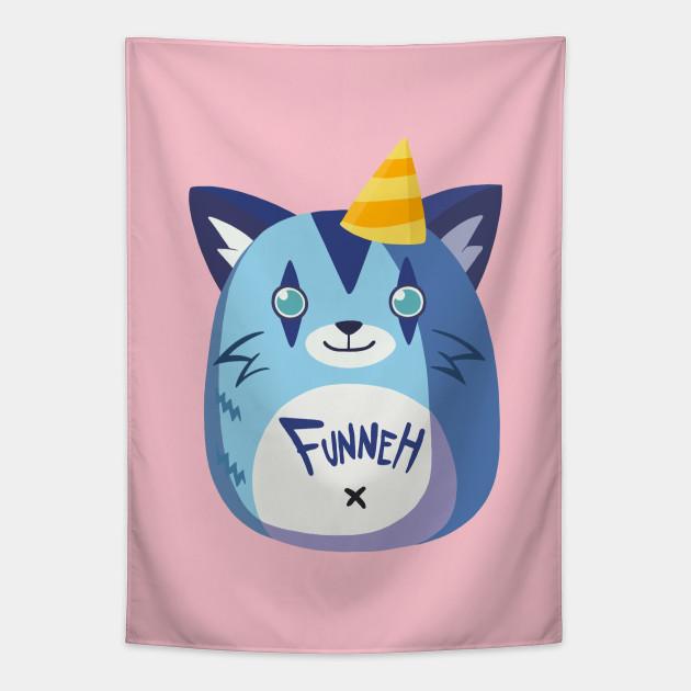 Funneh Blue Squishie