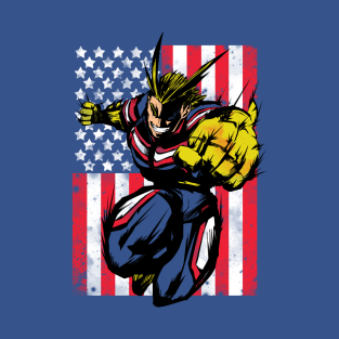 0992b115ed30e the Number  1 T-Shirt. by Genesis993.  20. Main Tag All Might ...
