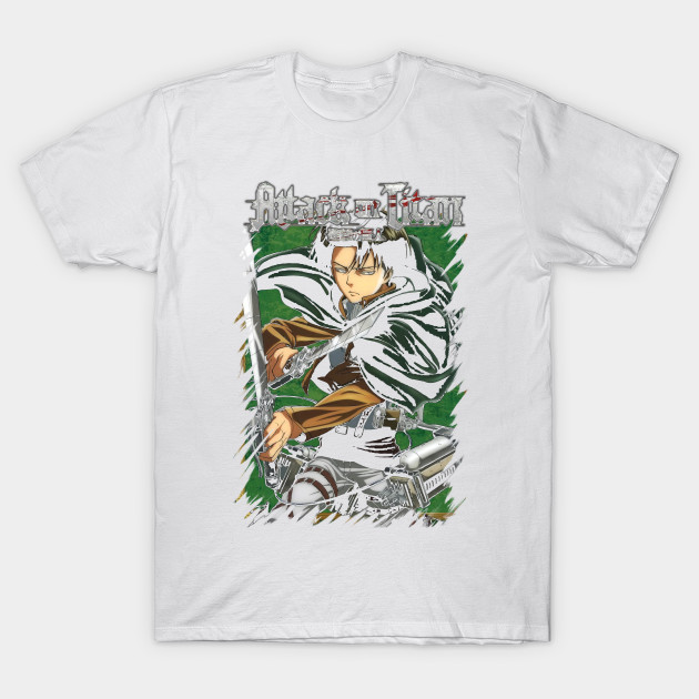 Attack On Titan Levi T-Shirt-TOZ