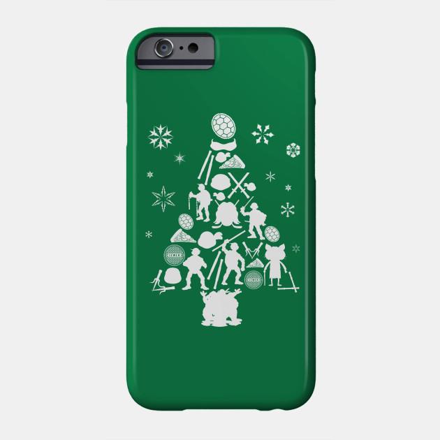 Ninja Turtle Christmas Tree.Teenage Mutant Ninja Turtles Christmas Tree Silhouette