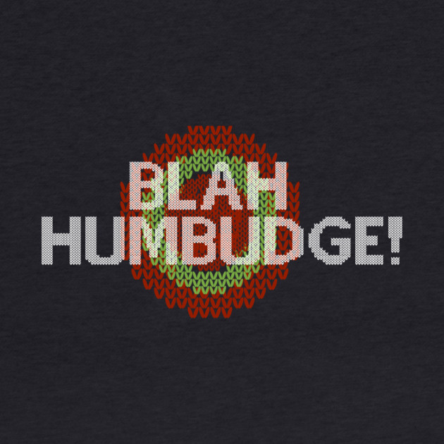 Blah Humbudge Faux Christmas Sweater