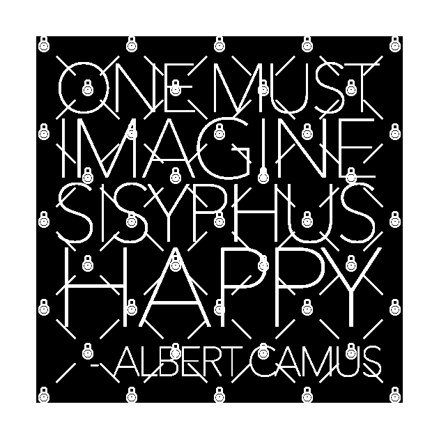 One Must Imagine Sisyphus Happy A Simple Quote 15